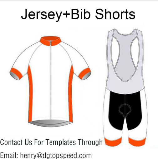 High Quality Custom Cycling Jersey And Bib Shorts Set DIY Bicycle Wear Polyester + LyCra Any Color Any Size Any Design rusuoo k01007 bicycle cycling jersey bib shorts set white black size xl 175 180cm