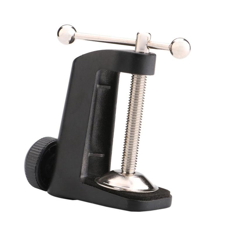 Neue Ankunft Einstellbare Nizza Tisch Befestigungsschelle für MIC Suspension Boom Scissor Arm Stehen Inhaber Mikrofonständer Stent HR