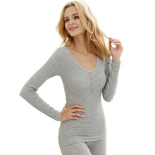 2018 Thermal Underwear Four Grain of Buckle Wool Warm Seamless Lace Sexy Winter Cultivate Morality Shaped Underwear Sets Women