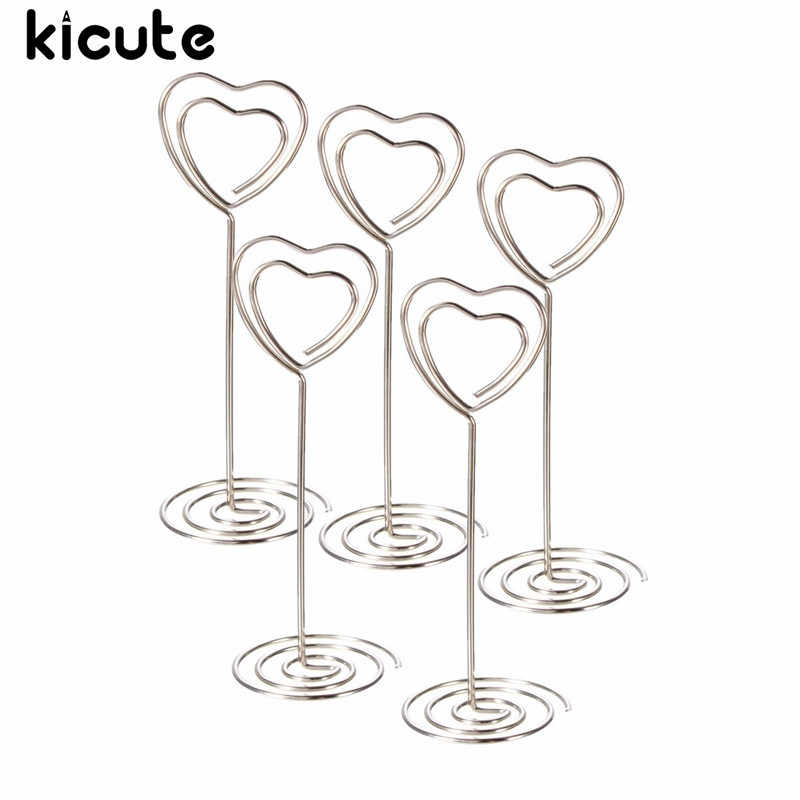 Kicute Place Holders Wedding Restaurants Cafes Table Photo Memo Clip Note Holders Number For Office School Supplies Name Clips