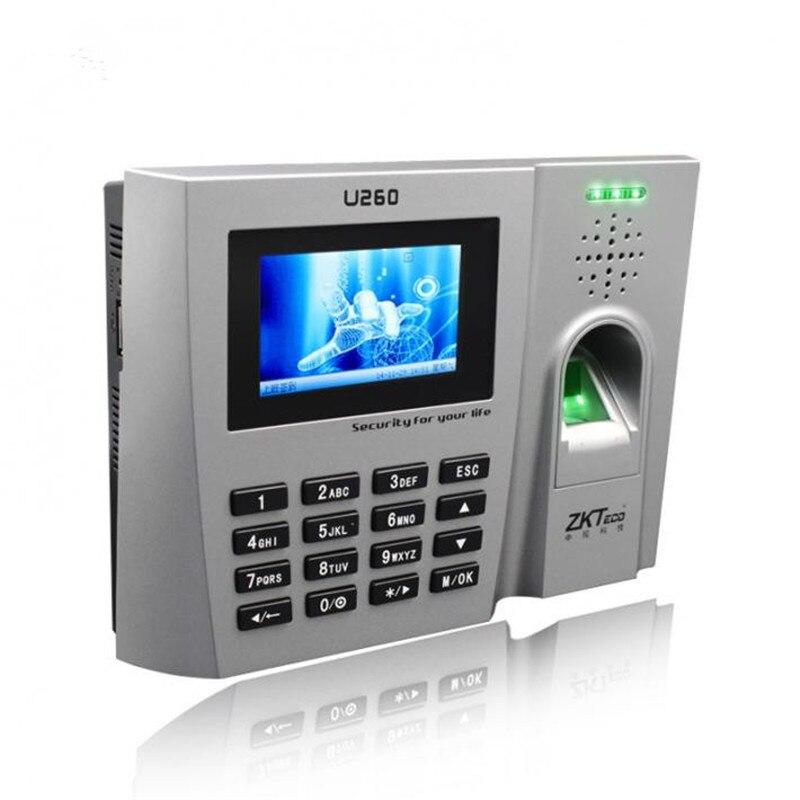 ZK Optical Sensor U260 Biometric fingerprint time attendance terminals (Finger+ID)