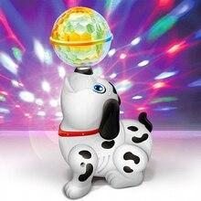 Забавные электронные игрушки музыкальная Поющая ходьба электрическая игрушка собака домашнее животное для детей Детский подарок интерактивные электронные домашние животные