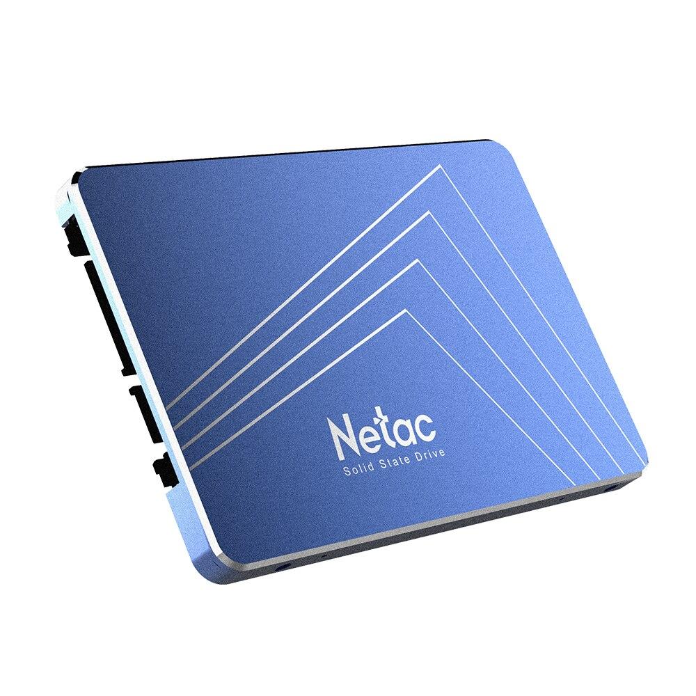Netac N600S 720 GB SSD 2.5in SATA6Gb/s TLC Nand Flash à semi-conducteurs entrée 32 mo Cache avec R/W jusqu'à 500/400 mo/s