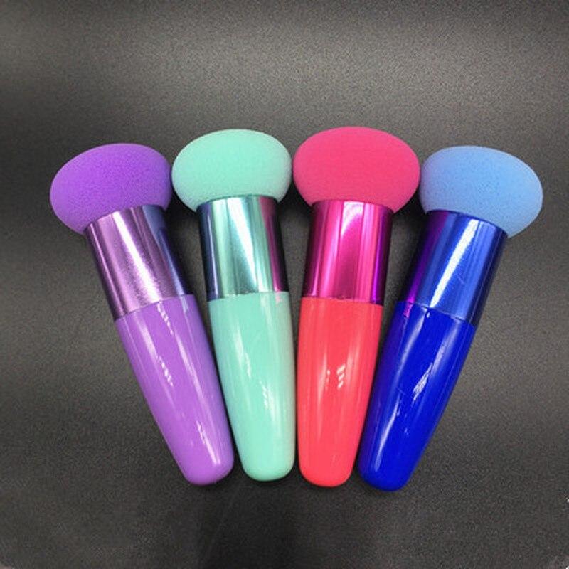 1 Pc Cream Foundation Make Up Cosmetic Makeup Brushes Liquid Sponge Brush Optional Color XYR