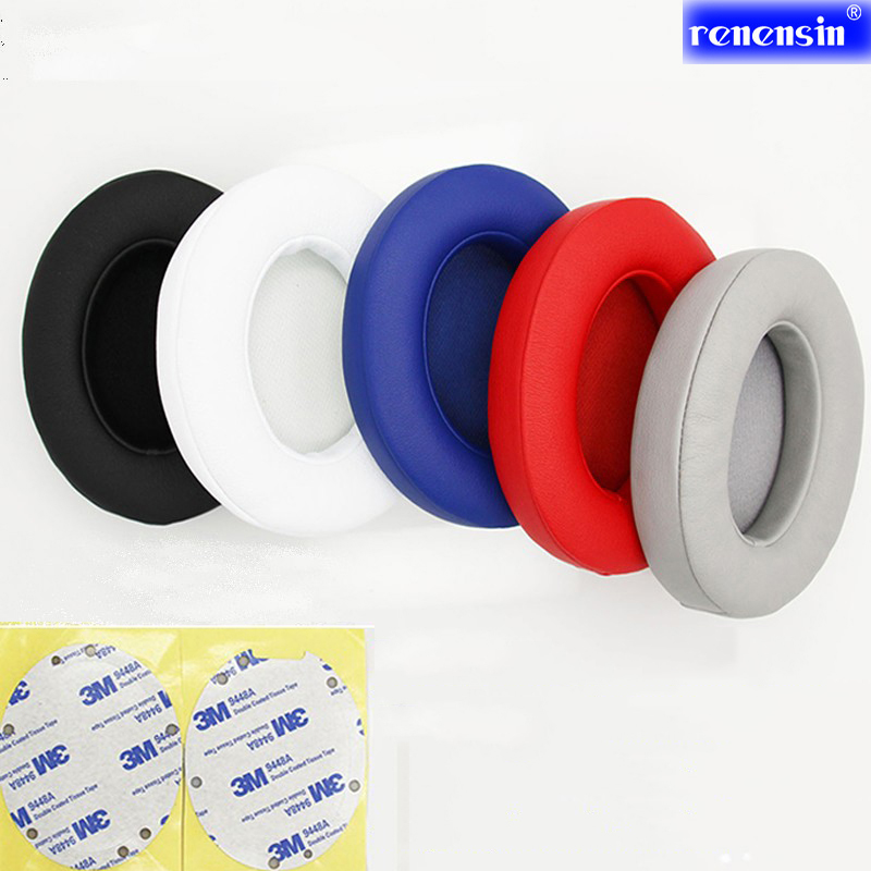цена на Replacement Ear Cushions Pad Earpads Soft pillow Care Headphone for Beats by dr dre Studio 2.0 3 B0500 B0501 Wireless Headset
