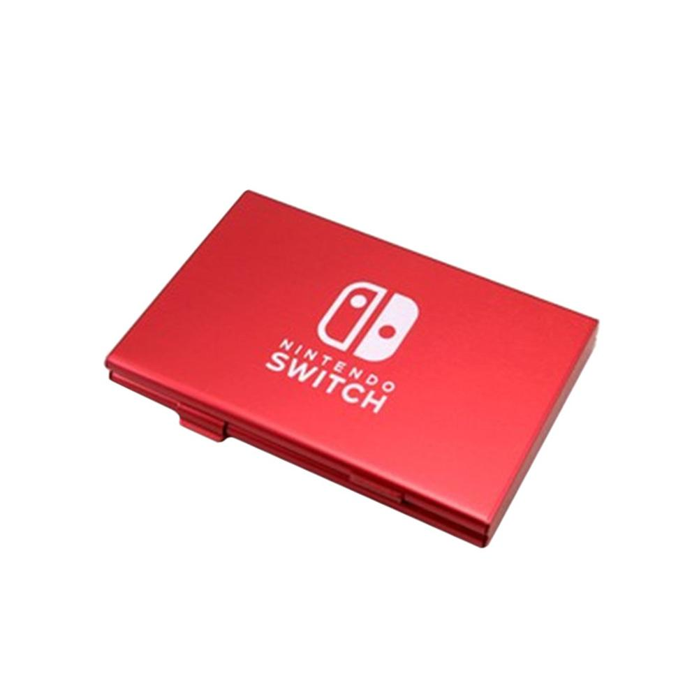 6-in-1 Aluminum Game Card Cartridge Case Holder Storage Box For Nintendo Switch 2018 NEW