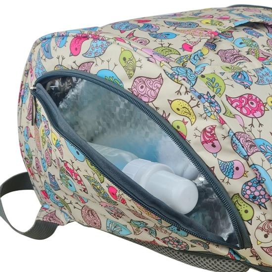 mommore Multifunkcionális Bolsa Maternidade Baby Pelenka táskák - Pelenkák és WC képzés - Fénykép 5
