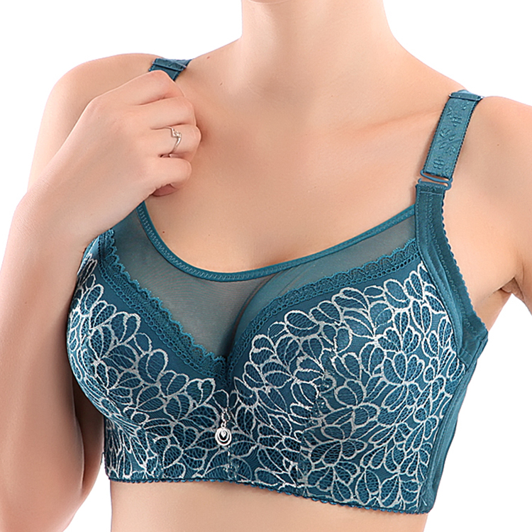 Push Up Bra Big Size Lace Bralette Adjusted Bra Summer Style Lace Sexy Underwear For Women Bra 95D Sutian Lingerie 2020 Hot Sale