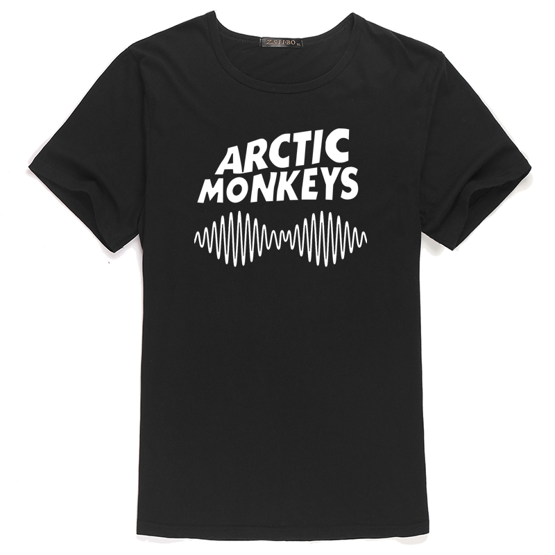 Summer New Fashion ARCTIC MONKEYS England Print Women's Casual Loose T-shirt Top