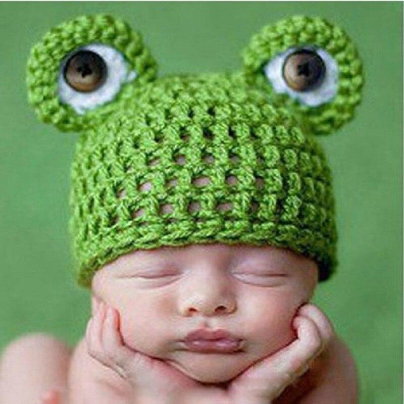 Newborn baby Girl Boys Crochet Animal Hat for Photography Props Tiny ...