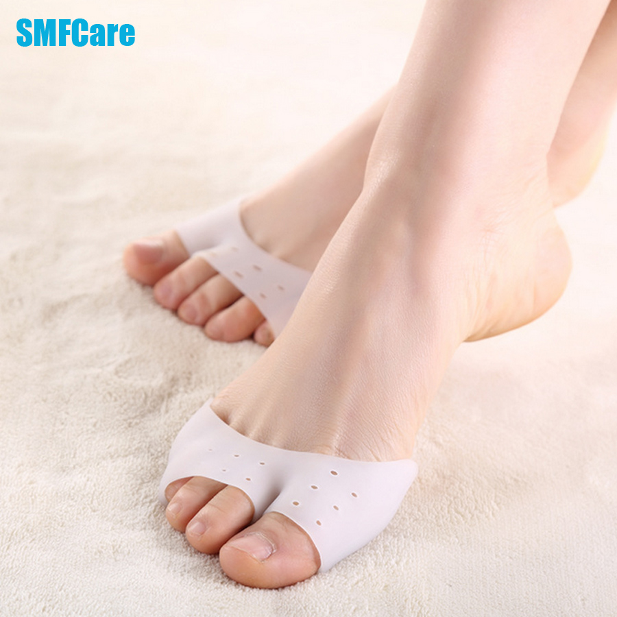 Soft Silicone Invisible Toe Sleeve Protection Ballet Shoe High Heels Toe Pads Gel Protective Protector Orthopedic Z38201