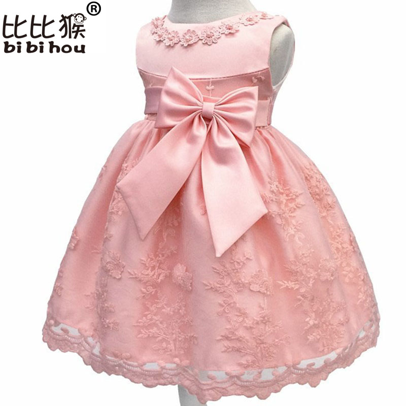 Baby Girls Dress For Girl Princess Party Dress Infant Christening Gown 1 Year Birthday Dress Christmas Carnival Costume for Kids girls christmas xmas dresses kids girls princess party carnival tutu dress baby girl red new year fancy party dress up outfits