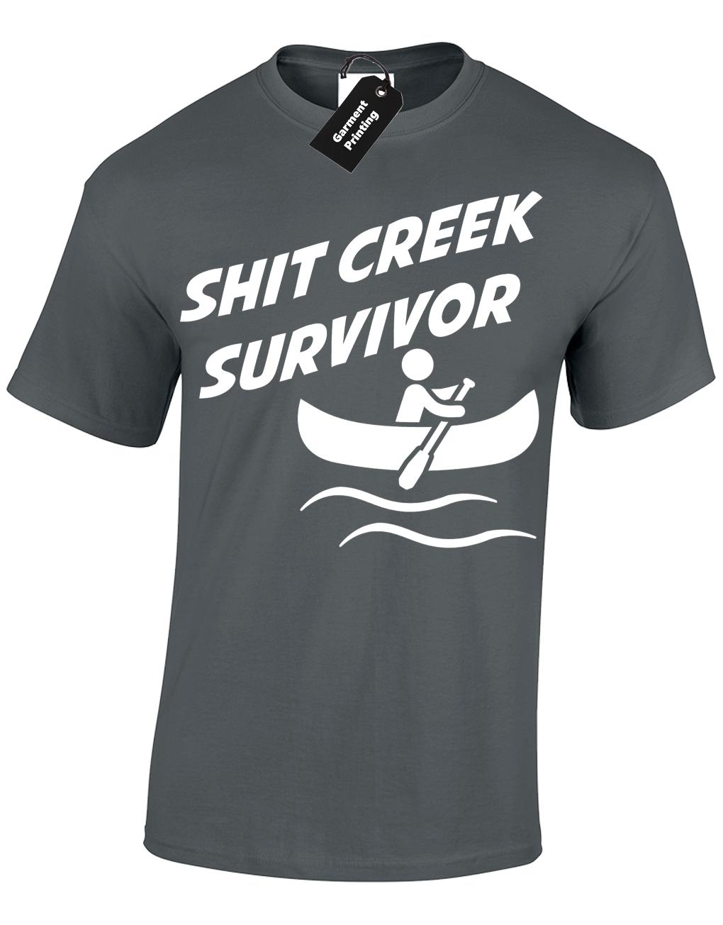Sh*t Creek Survivor T-Shirt