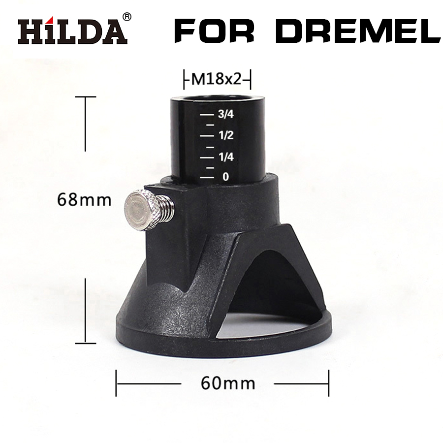 HILDA Dremel Drill Dedicated Locator,dremel Accessories,grindering Polishing Located Horn For Dremel Drill Rotary Accessories