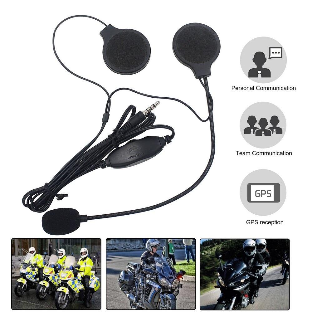 Motorcycle Helmet Headsets With Microphone Waterproof Windproof Stereo Headphones With MP3/4 Motorcycle Helmet Walkie Talkie