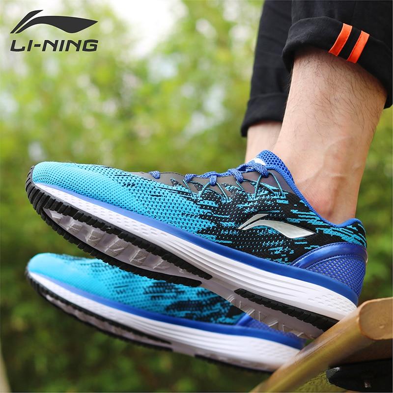 Li-Ning Hommes de 2017 Vitesse Étoiles chaussures de course à coussin Respirant tennis textile Doublure Lumière chaussures de sport ARHM063 XYP467 - 3