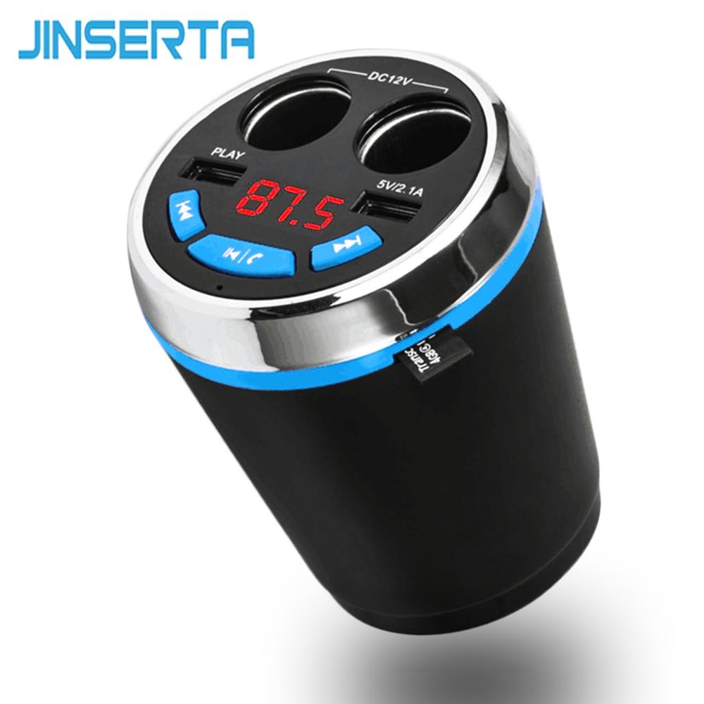 JINSERTA Bluetooth autós készlet MP3-lejátszó FM-adó HandsFree - Autóelektronika