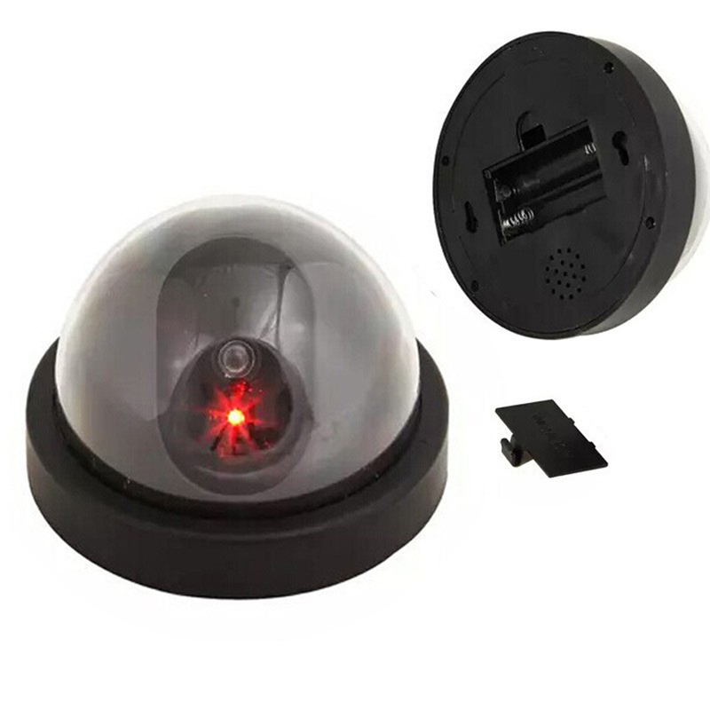 OWGYML Fake Dummy Camera Indoor Fake Security Camera Dome Dummy CCTV Surveillance Camera Flashing Red LED For Home and Office wireless fake camera led surveillance motion detection security cctv dummy cam for safety free shipping