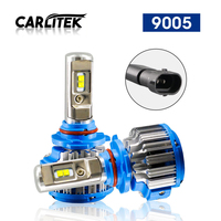 2Pcs Lot 9005 HB3 Led CANBUS Car Headlight Bulbs 6000K White CSP Chips 7000lm Auto LED