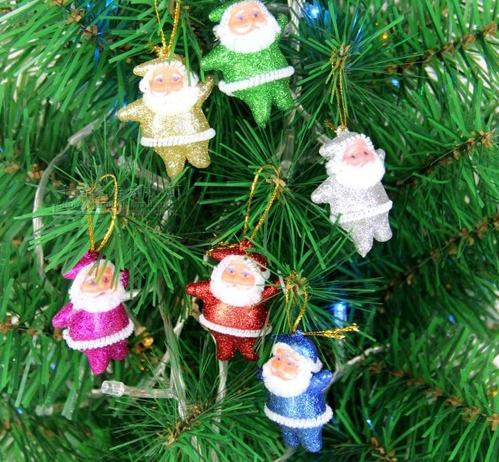 Funny Christmas Tree Decorations Part - 39: Funny Christmas Tree Ornament Decorations Santa Claus Pendant Indoor (18  Pcs) New Year Party ...