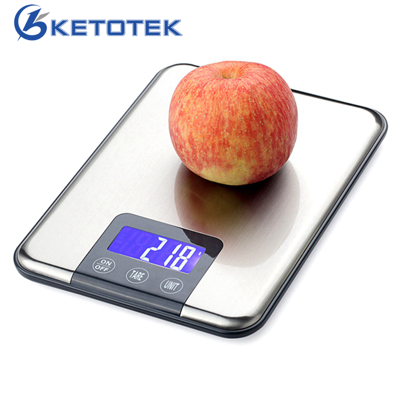 15kg/10kg 1g Digital Libra Weighting Scale Kitchen Scales Weight Balance for Food Vegetable Fruit pocket 0 1 500g digital balance food flour weight scale kitchen measuring spoon 2 x aaa