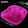 The car seat cushion of pure wool cashmere backless winter general short car seat for bmw kia audi kids