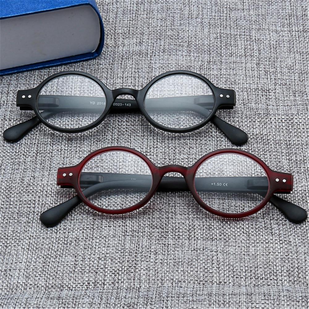 Diszipliniert Vivibee Unisex Oval Schwarz Lesen Presbyopie Brille Männer Klare Linse Eye Brillen Für Lesen Frauen Rahmen 1,5 1,75 Offensichtlicher Effekt Lesebrillen