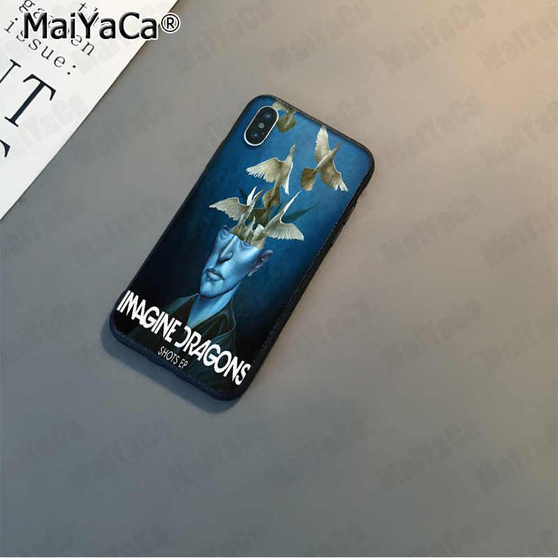 MaiYaCa imaginar dragones diversión de moda del teléfono caso para Apple iphone 11 pro 8 7 66S Plus X 5S SE XS XR XS.