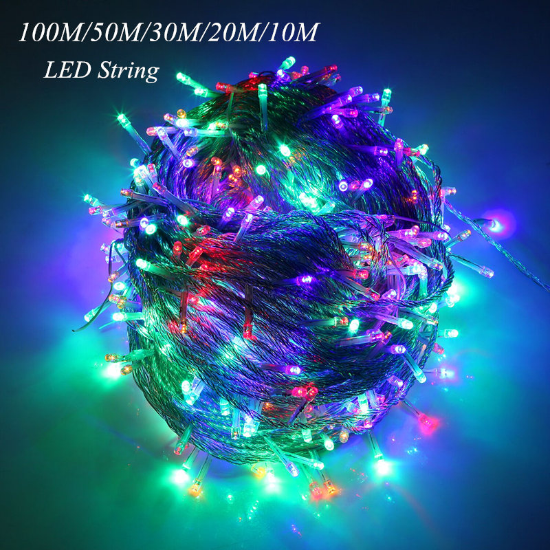 10M 20M 30M 50M 100M LED string Fairy light holida...
