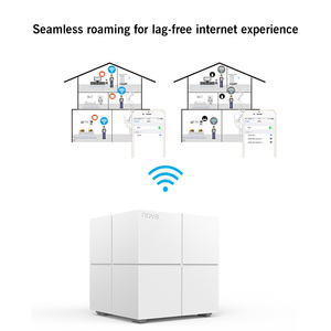 Image 2 - Tenda Nova MW6 Dual Band AC1200Mbps WiFi Router Whole Home Mesh Gigabit WiFi System with 2.4G/5.0GHz WI FI Repeater, APP Manage