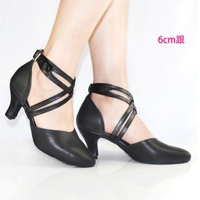 Nuevo 2019 Zapato de mujer en zapatos de baile de cuero Zapato de - Zapatillas - foto 2