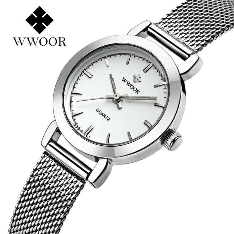 Luxury Brand Women Bracelet Watches Fashion Casual Quartz Ladies Wrist Watch Silver Gold Female Clock relogio
