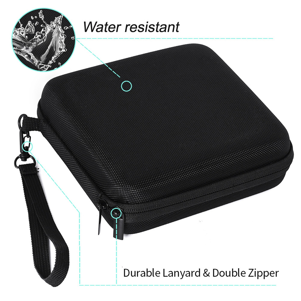 EVA Water-proof Protective Storage Case Carrying Bag Pouch for CD DVD Writer Blu-Ray & External Hard Drive Cables & Accessories