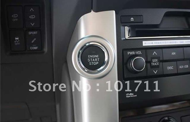US $580 0  Hot sale, TOYOTA PRADO push button start, remote control start  engine, Passive keyless entry alarm system, more fachion and safe-in Tire