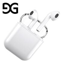 Bluetooth Kulaklık, GUSGU Mini Kablosuz Spor Kulaklık Stereo-Kulak Kulaklık Gürültü ile ve iPhone için Şarj Durumda