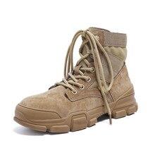 3ba17f44a Primavera y otoño Inglaterra estilo moda señoras Martin botas versión  coreana de La salvaje botas zapatos de los niños.