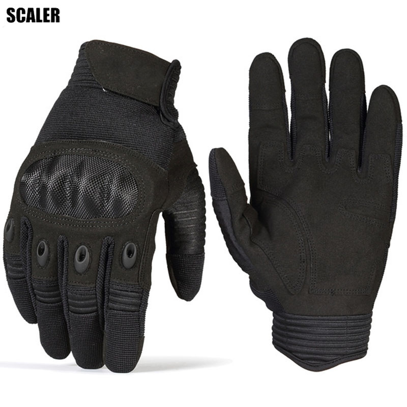 Touch Screen Tactical Military Paintball Airsoft Combat Shooting Bicycle Rubber Hard Knuckle Full Finger Outdoors Gloves M/L/XL