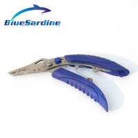 Quality Fishing Pliers Multifunctional Stainless Steel Jaw Scissors Hook Removal Tool Line Cutter Fishing Tackle