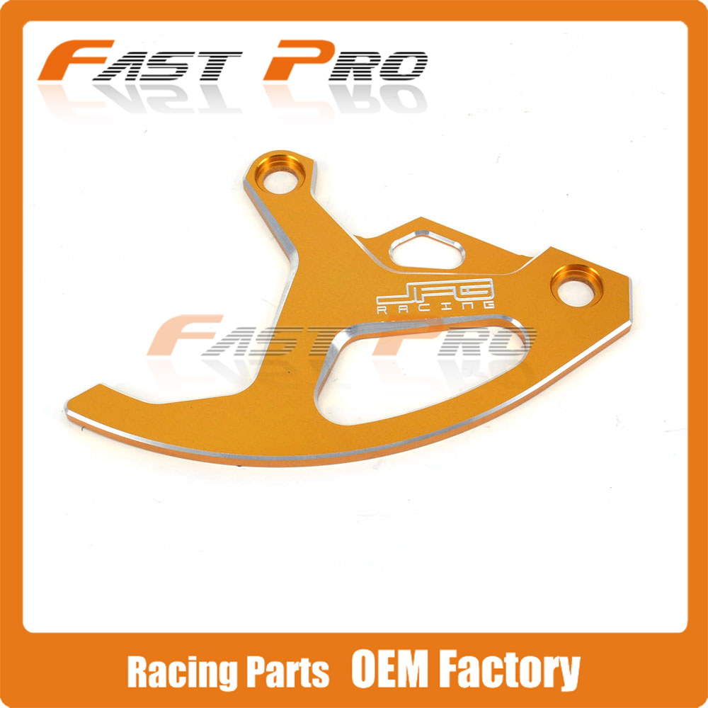 CNC Gold Billet Rear Brake Disc Guard Protection for SUZUKI RM125 RM250 RMZ250 RMZ450 RMX450Z DRZ400SM Dirt Bike