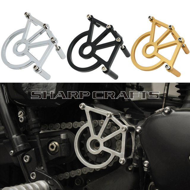 New Sprocket Cover Chain Case Guard Protection For Triumph America