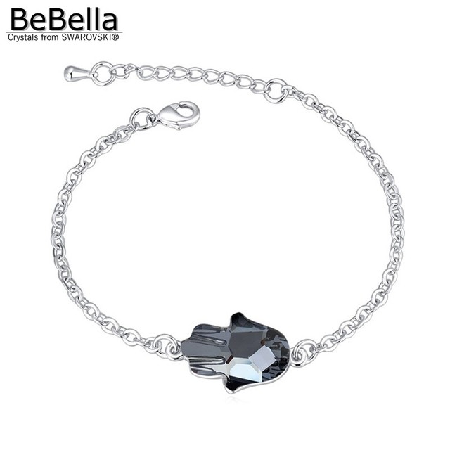 BeBella Fatima Hand Bracelet (Swarovski Elements)