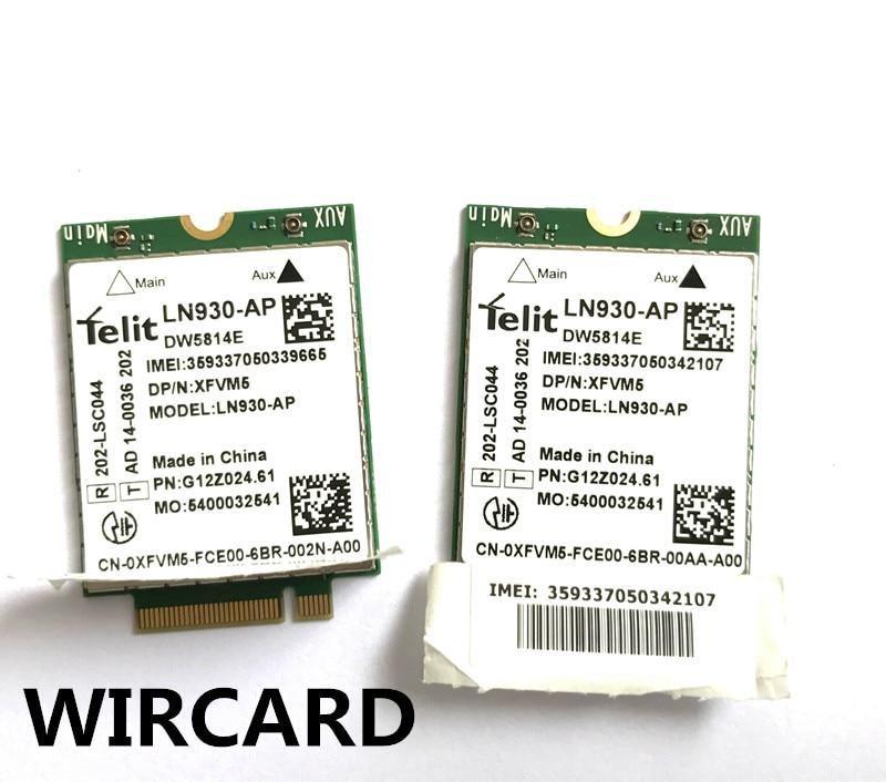 Купить с кэшбэком New LN930-AP DW5814E 4G Module FDD-LTE 4G Card for Dell Laptop