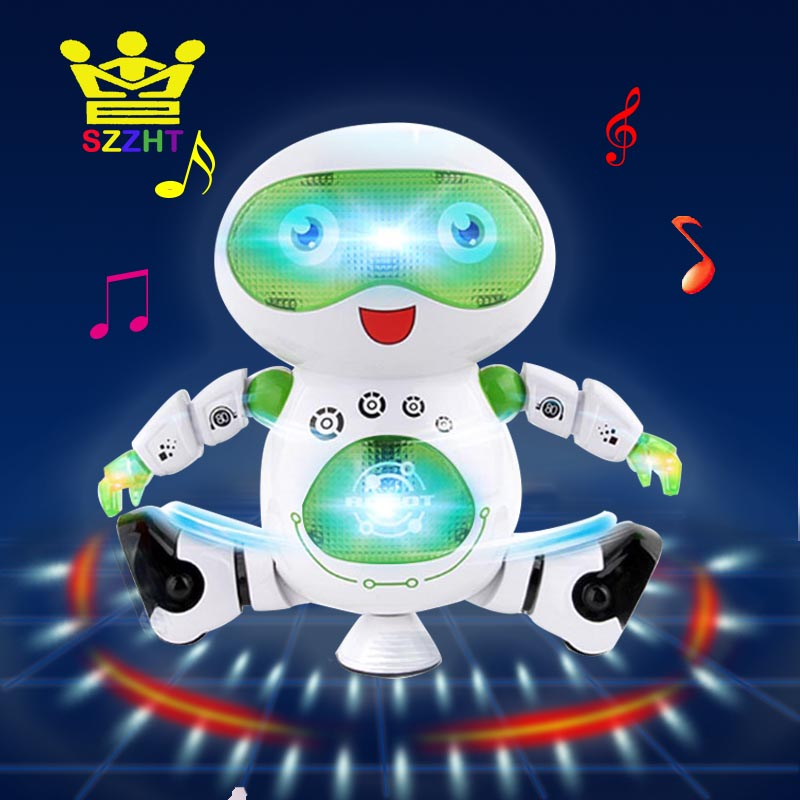 Electronic Smart Space Walking Dance Robot Toy With Music Light Astronaut Brinquedos Electronique Jouets Pet For Child Kids Gift