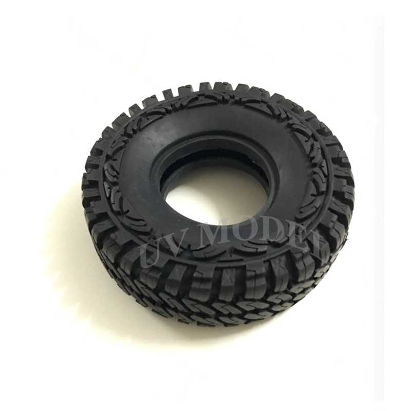 """4 шт. RC 1,9 """"Рок шины для колес шины 114 мм колесо с бедлоком шин For1: 10 RC грузовик гусеничный осевой SCX10 Tamiya по супер скидке CC01 F350"""