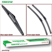 цены Front Rear Wiper Blades Set For Kia Ceed 2006-2009 Windshield Windscreen wiper For Hyundai I30 2007-2010 24
