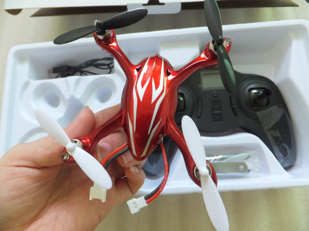 F08631 Upgrade Version Hubsan X4 H107C 2.4G Quadrocopter RTF with 200W Aerial Camera Video Recording Helicopter