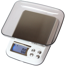 Free shipping new fashion digital weighing scales balance weight 0.01g quality cooking tools Food electronic household scales