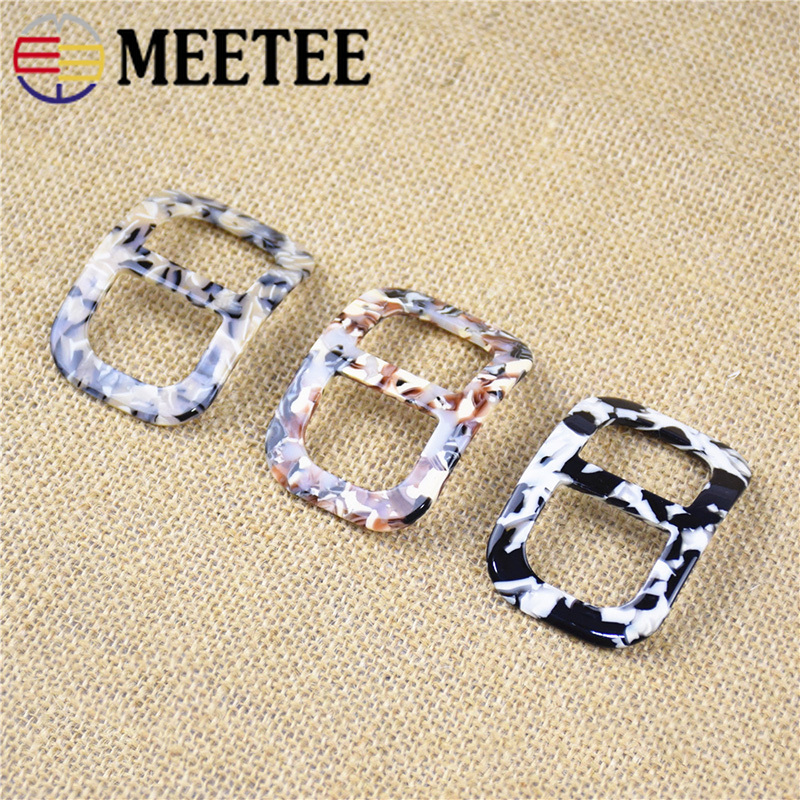 Efficient Meetee 4pcs 26mm Resin Tri-glide Buckle Belt Slider Adjustment Scarf Buckle Diy Bag Strap Garment Decor Hook Accessories Bf043 Apparel Sewing & Fabric