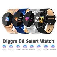 Top Smart Watch Smart Fashion Watch Men Women Waterproof Fitness Wearable Bracelet Smartwatch Wearable Device for Android IOS