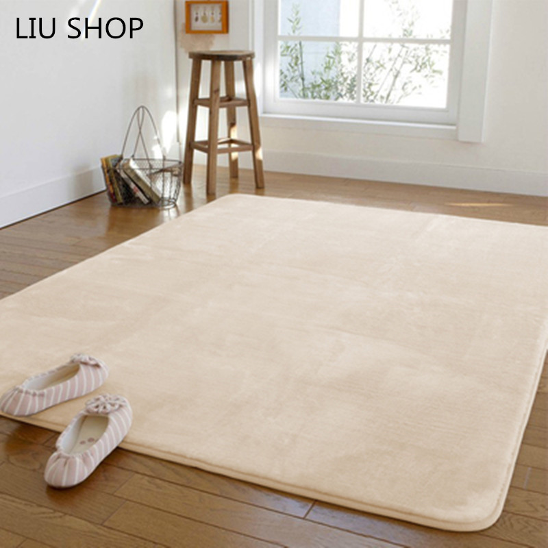 Aliexpress.com : Buy LIU 14 colorsCoral velvet carpet fuzz ...